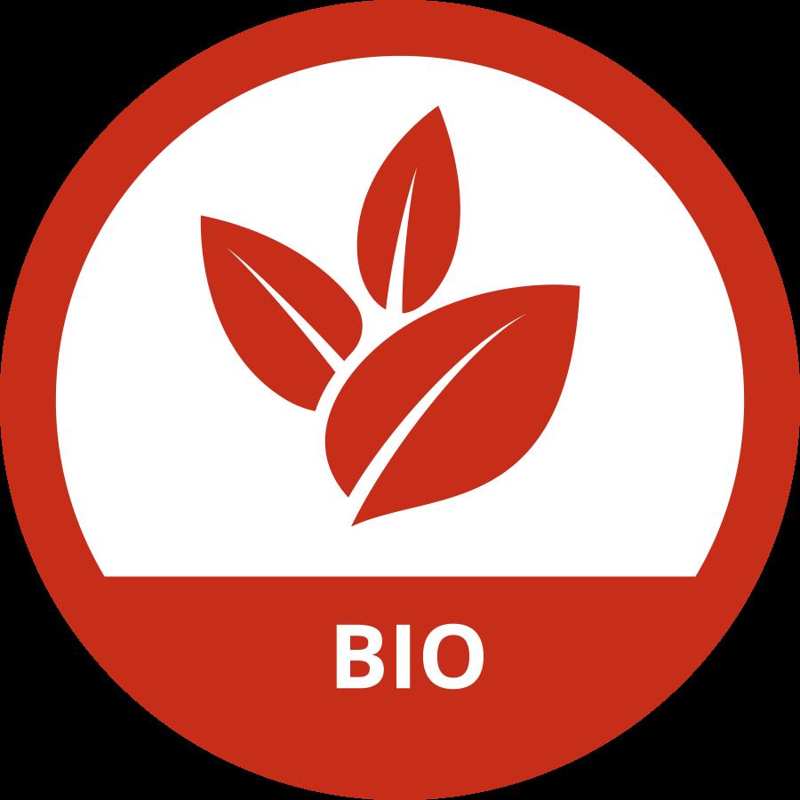 Logo rosso Bio