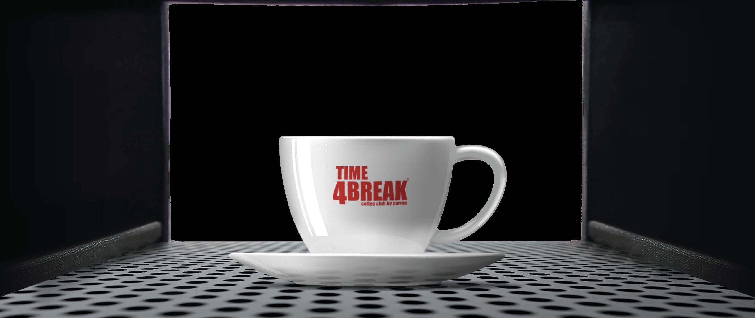 Distributore tazzina time 4 break